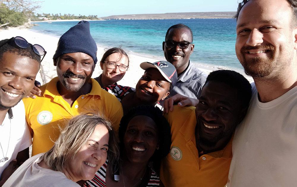 WTT coordinates Haiti Mission