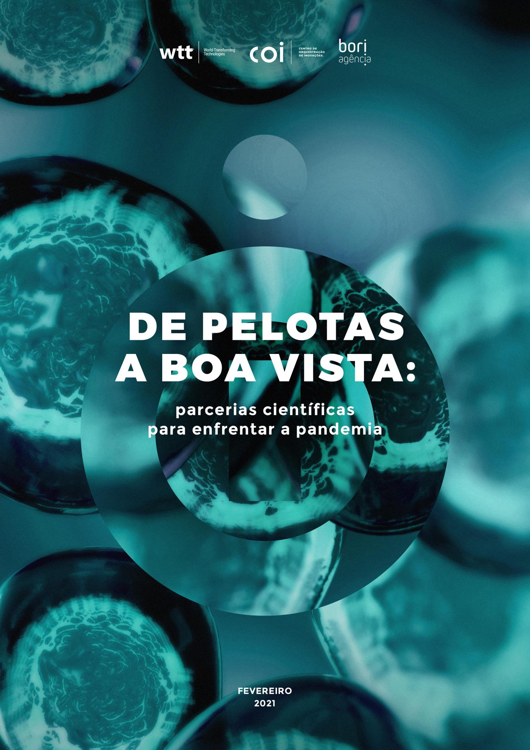 Publicação sobre parcerias científicas para enfrentar a pandemia