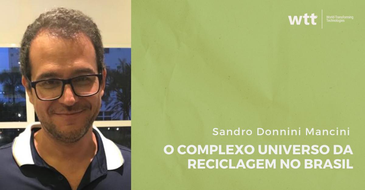 Reciclagem no Brasil: do complexo ao caminho